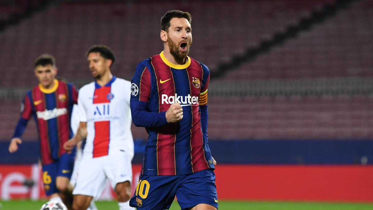 Messi equals Raul's record for Champions League goalscoring longevity