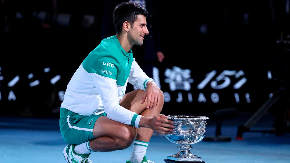Australian Open: Djokovic glad to silence critics with trophy, confirms torn oblique