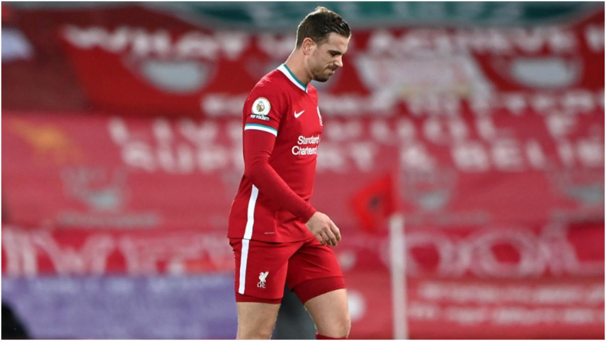 Liverpool: Henderson out until April after surgery on injury
