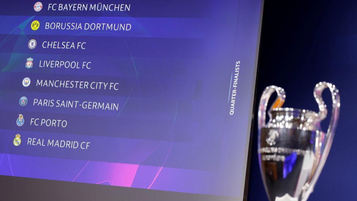 Champions League quarter finals draw: teams, games, fixtures and dates