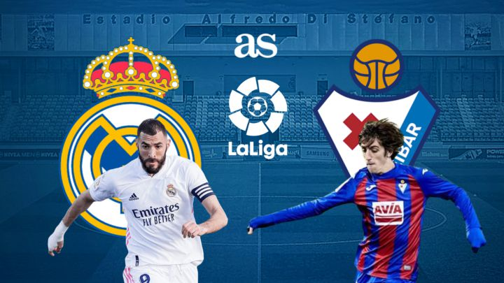 Real Madrid vs Eibar: how and where to watch: times, TV, online