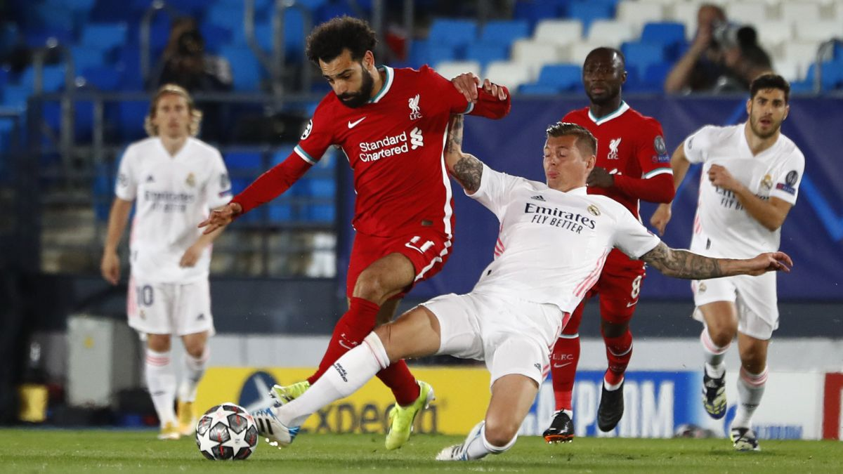 Real Madrid vs Liverpool: live online Champions League 2020/21 - AS.com
