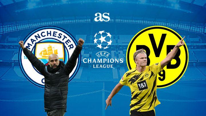 Manchester City vs Borussia Dortmund live online ...