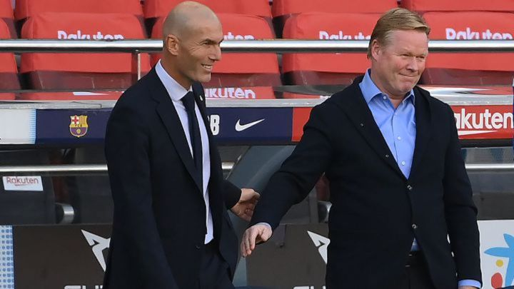Zidane vs Koeman: how many Clásicos have they played, coached and won?