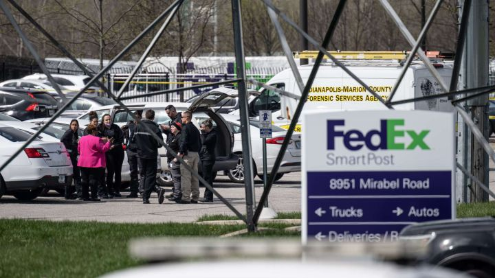 Shooting at FedEx warehouse in Indianapolis leaves eight dead