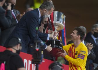 Messi stars as Barça thrash Athletic to win 31st Copa