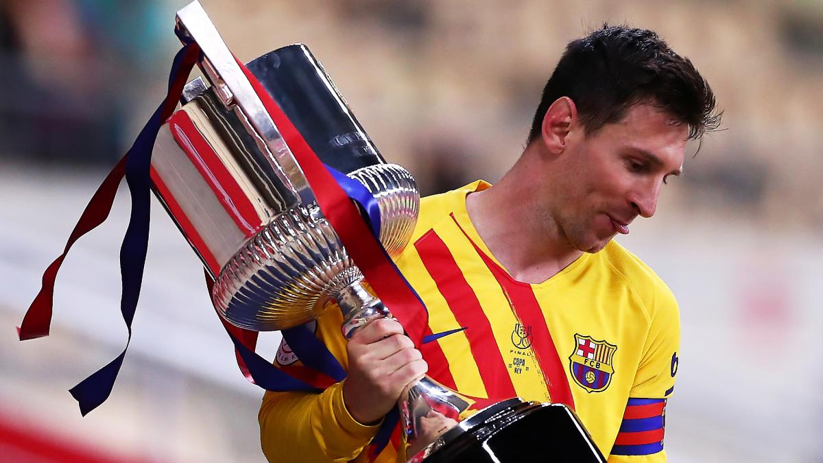 Messi hails 'special' Copa del Rey triumph as Laporta backs forward to sign new deal