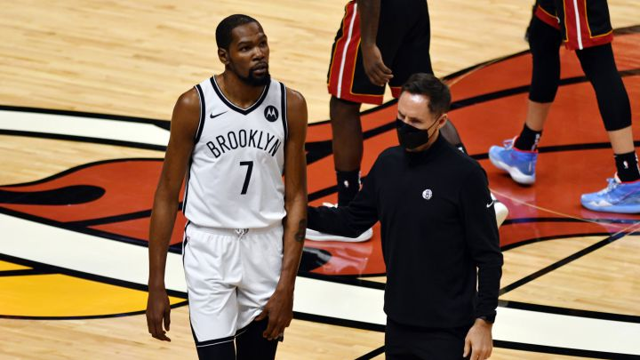 Kevin Durant Injured in Nets loss