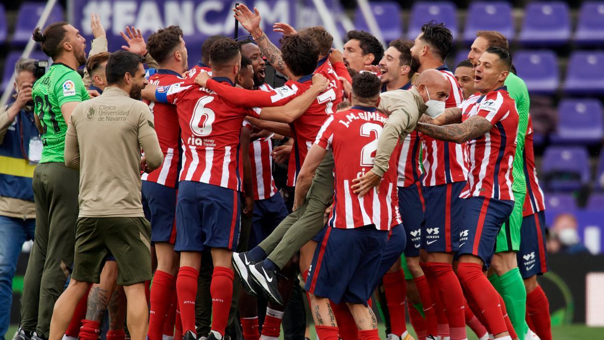 Atletico Win Laliga 20 21 The Stats Behind Los Colchoneros Success As Com
