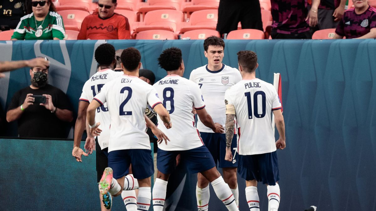USA 3 vs 2 Mexico: scores, summary, stats, highlights   CONCACAF Nations  League final - AS.com