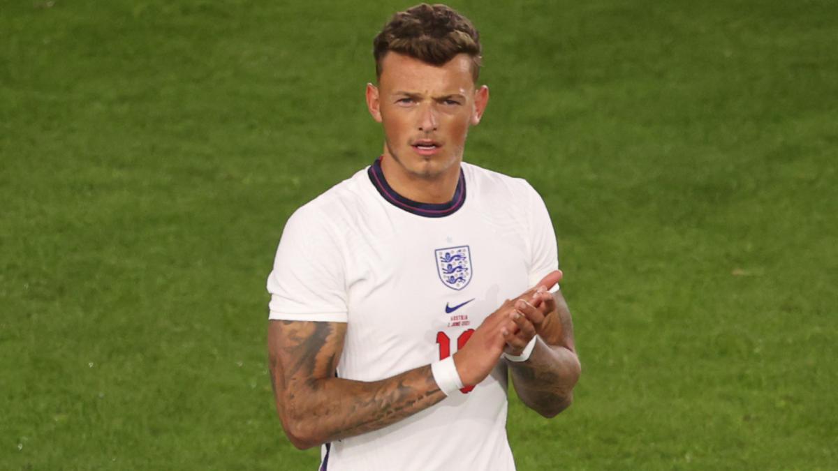 Ben White v dresu Anglie