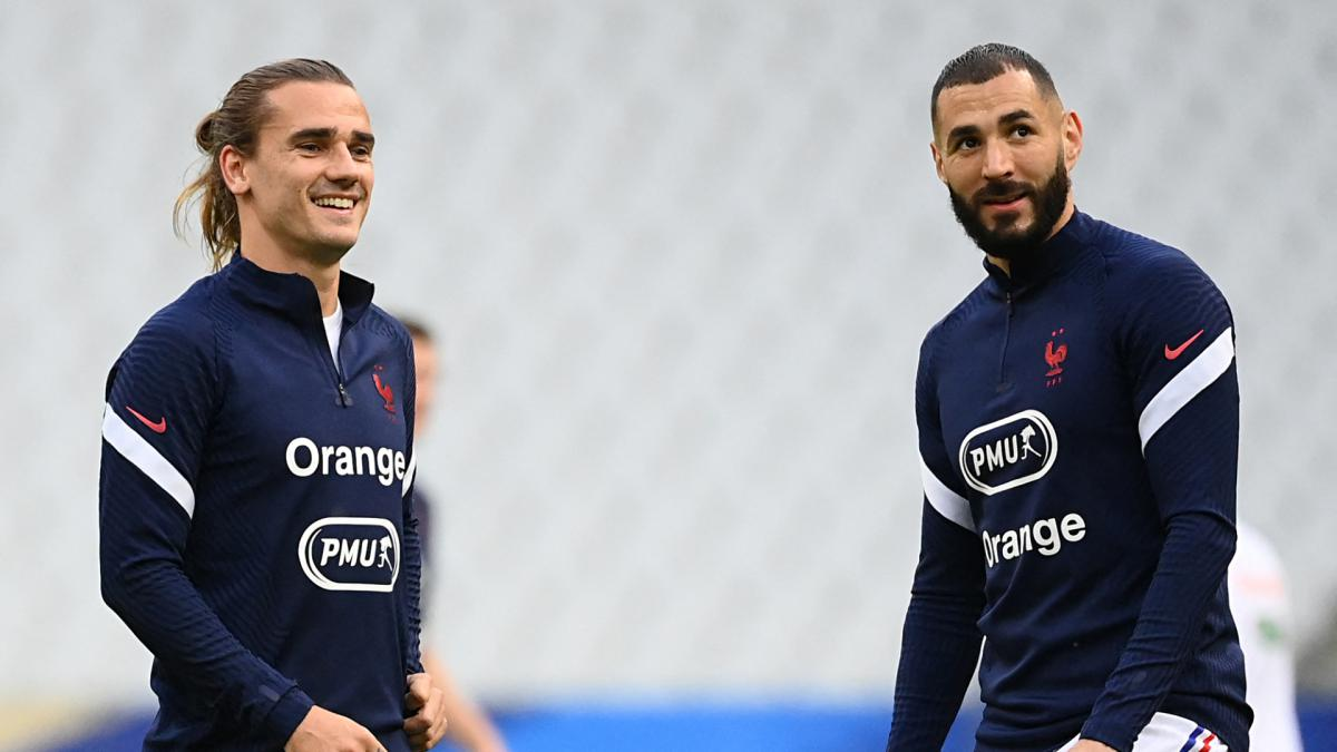 Euro 2021 France Vs Germany Benzema And Griezmann Get Green Light As Com