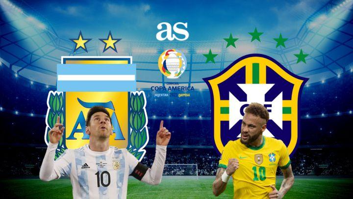 Argentina vs Brazil Full Match & Highlights 11 July 2021