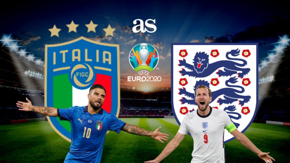 Italy vs England: times, TV and how to watch online