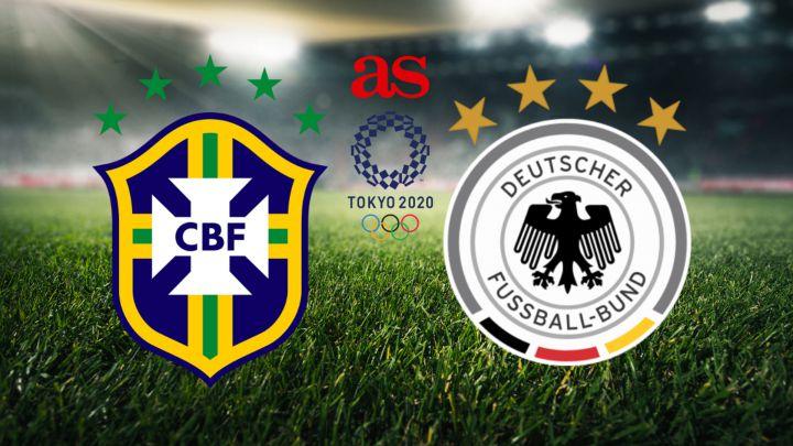 Brazil vs Germany Full Match & Highlights 22 July 2021