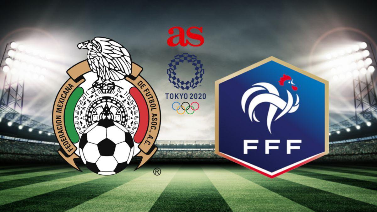 Mexico U23 vs France U23 live online: scores, stats and