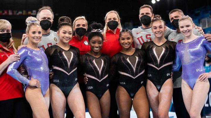 Gymnastics Olympics 2021