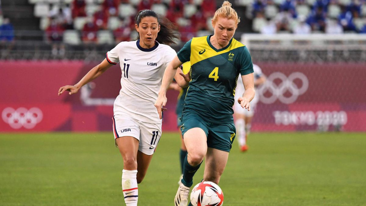 The USWNT will play against Australia for bronze - AS English
