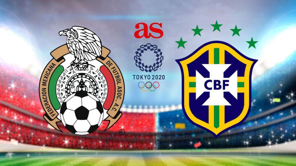 Mexico vs Brazil Full Match & Highlights 03 August 2021