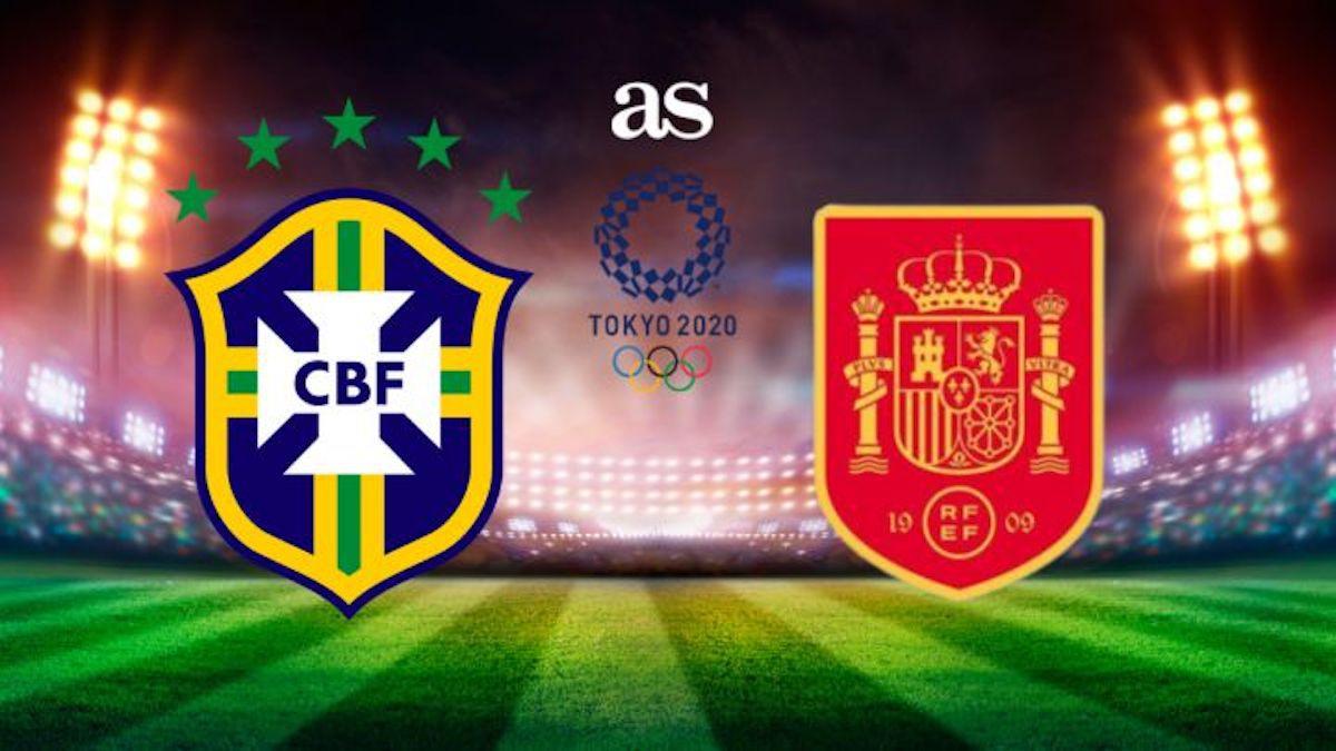 Brazil vs Spain Full Match & Highlights 07 August 2021