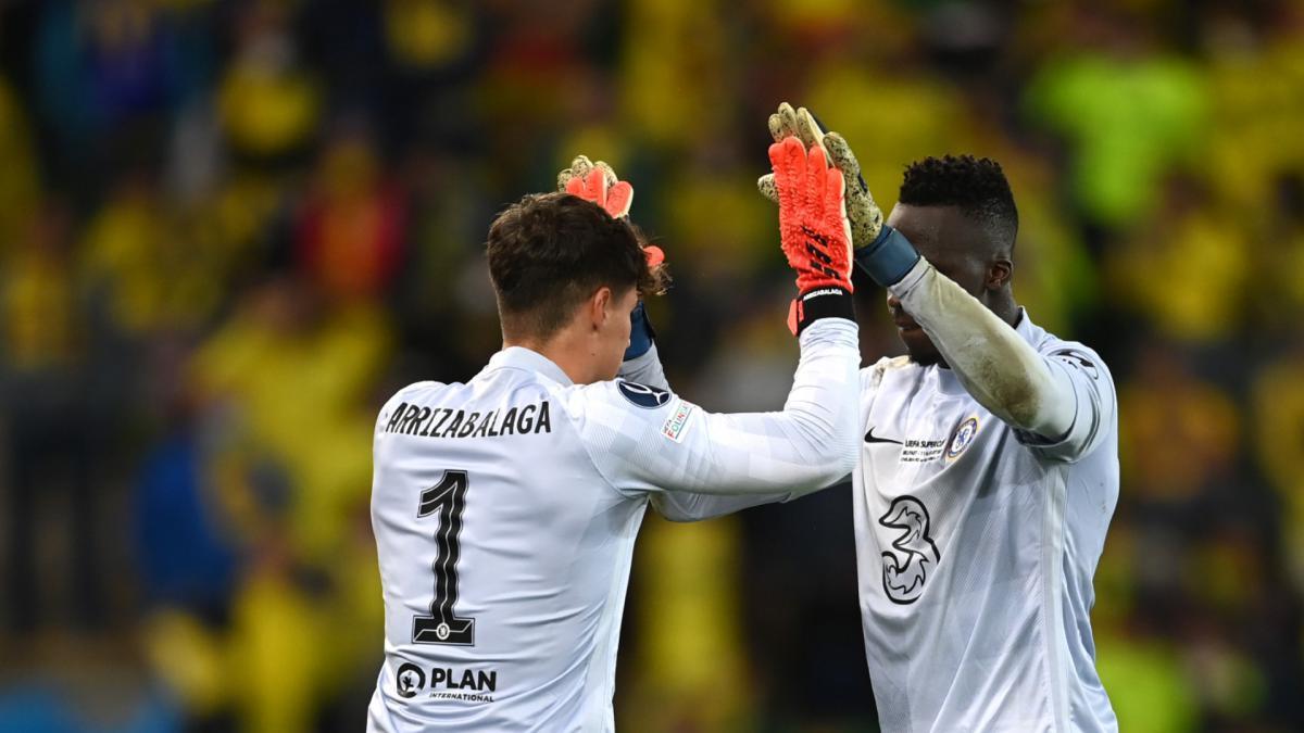 Chelsea's Super Cup win a 'team effort', say Mendy and Kepa - AS.com