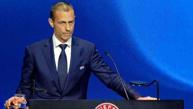 UEFA boss Aleksander Ceferin.