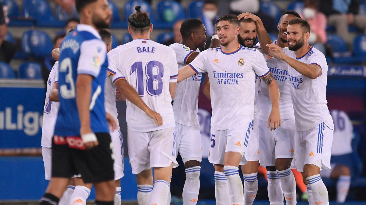 Alavés 1-4 Real Madrid summary: score, goals, highlights   LaLiga 2021-22