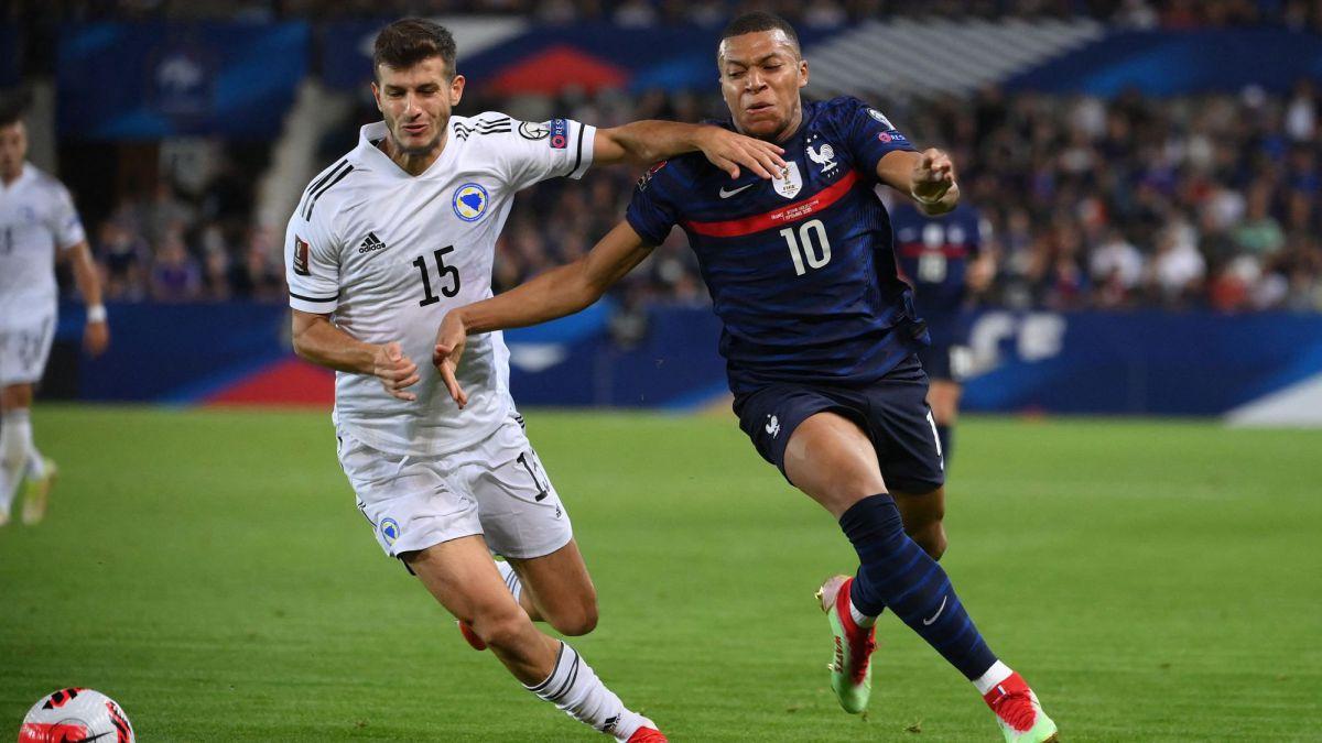 France 1-1 Bosnia summary: score, goals, highlights, World Cup 2022 qualifier