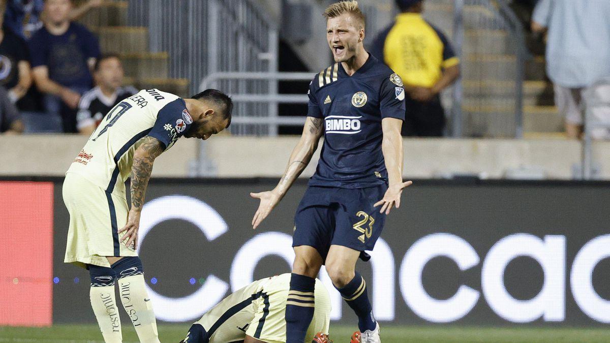 Philadelphia Union 0-2 Club América: summary: score, goal highlights, CONCACAF Champions League