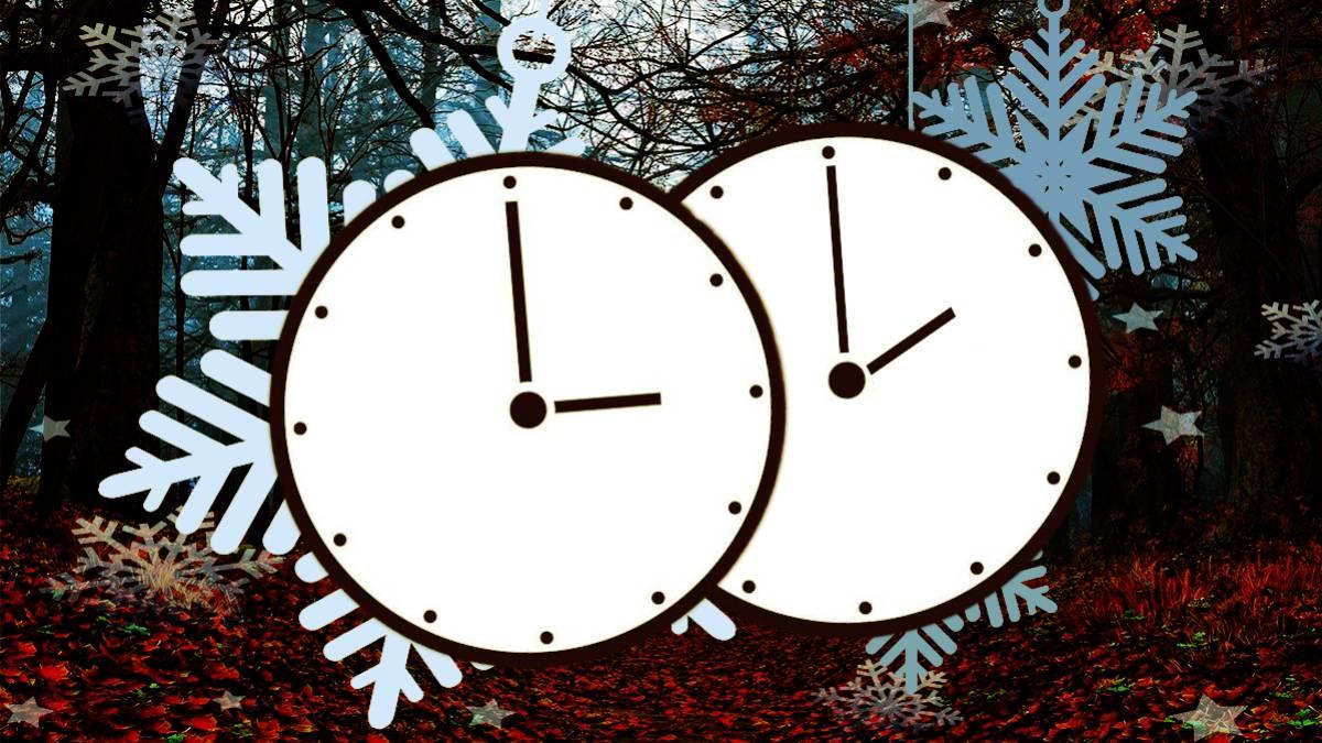 A las 3.00 del domingo volverán a ser las 2.00