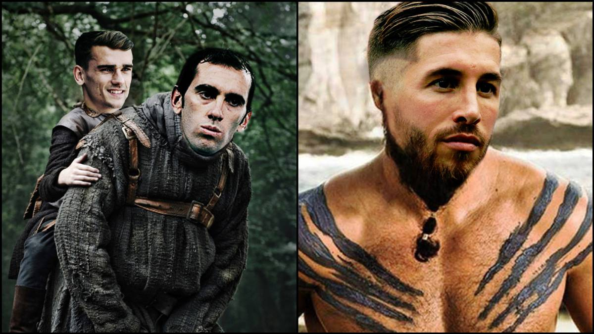 Game of Thrones: Atlético and Real Madrid players compete