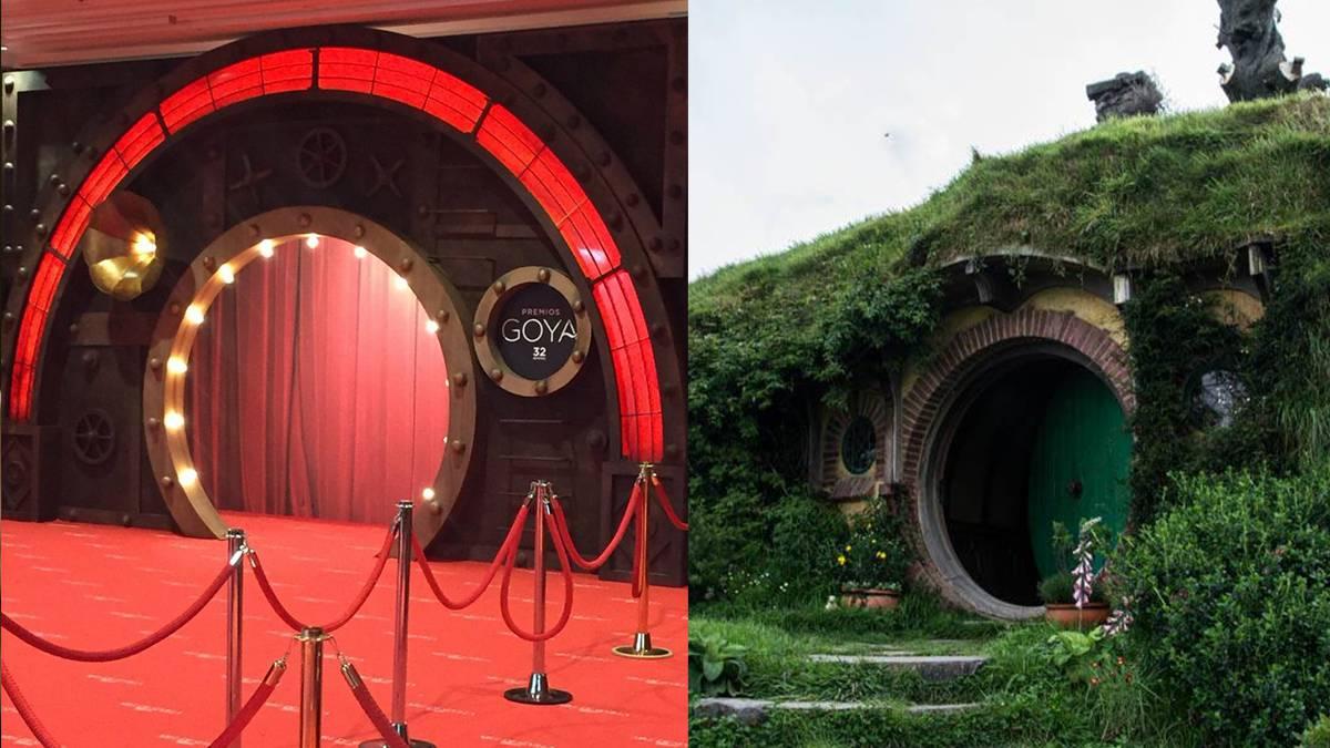 La entrada a los goya 2018 la casa de bilbo bols n o la for Puerta imaginarium