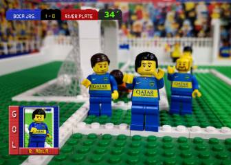 Relive Boca vs River... with Lego
