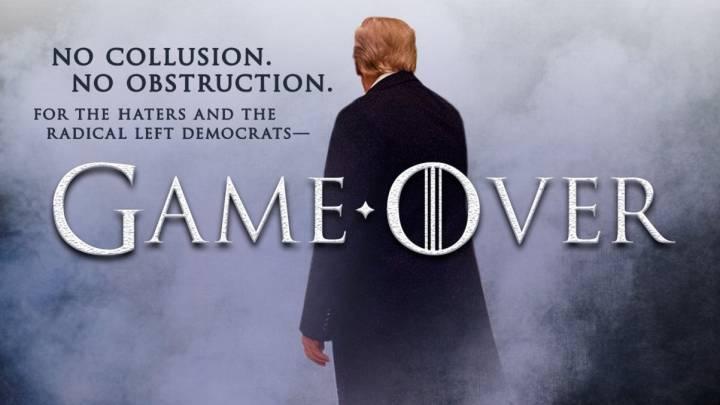 daafa3acde2a5 Trump utiliza   Juego de Tronos   para un meme y HBO responde negativamente