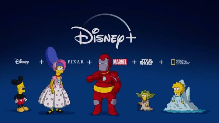 Disney disfraza a Los Simpson en esta divertida 'promo' de su nueva plataforma