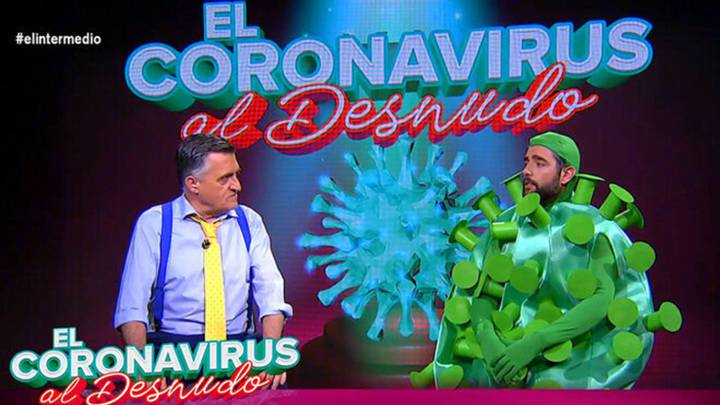 Wyoming entrevista en exclusiva 'al Coronavirus' en 'El Intermedio'