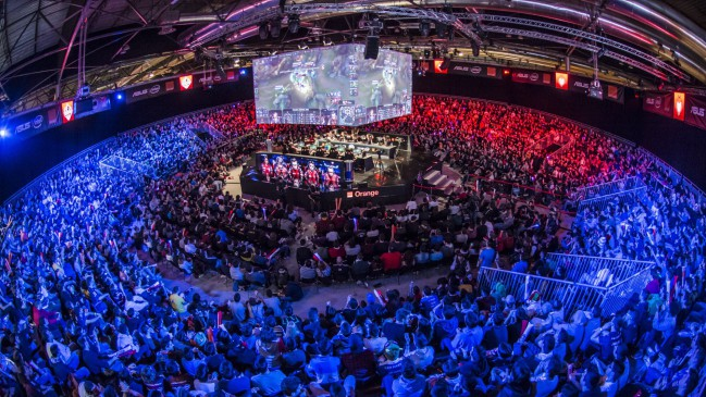 Estadio de la FinalCup de League of Legends