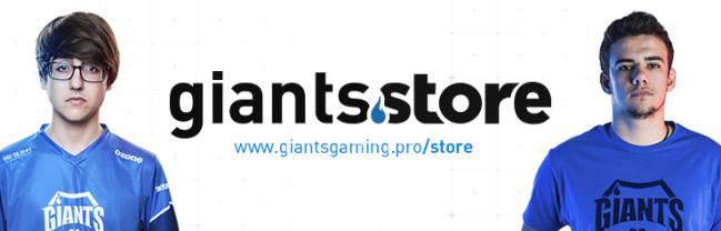 Camiseta conmemorativa. Giants Gaming ... 4f64a81cc9243