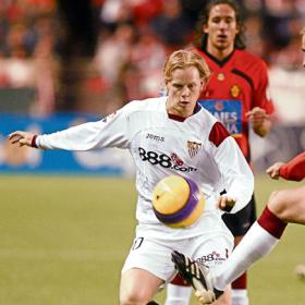 Tom de Mul in action for Sevilla