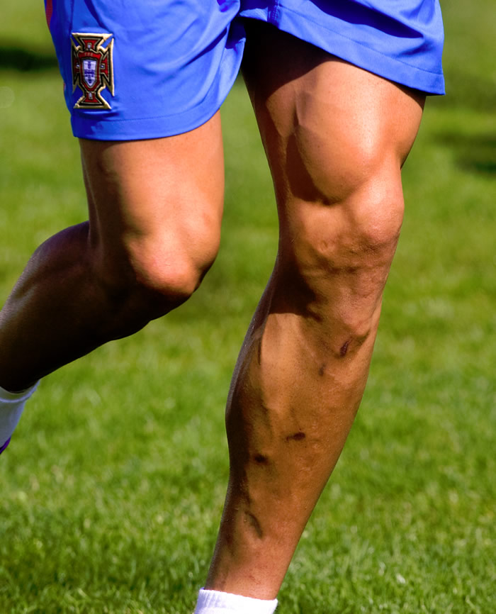 Anatomía de la pierna zurda de un genio - AS.com
