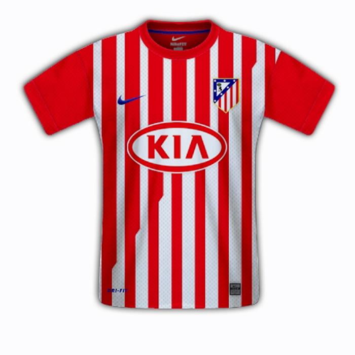 4675746298e84 La nueva camiseta de la 11-12 tendrá más rayas rojas - AS.com