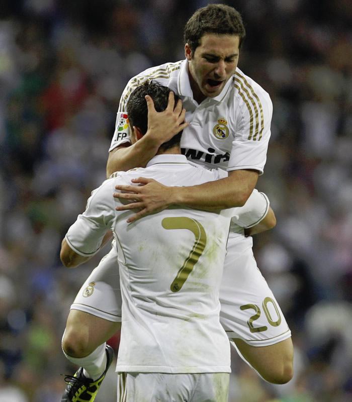 606588a601fe1 Higuaín puede igualar a Ronaldo ante el Mallorca - AS.com