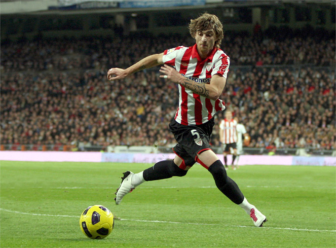 Amorebieta augura un 1-2 a favor del Athletic