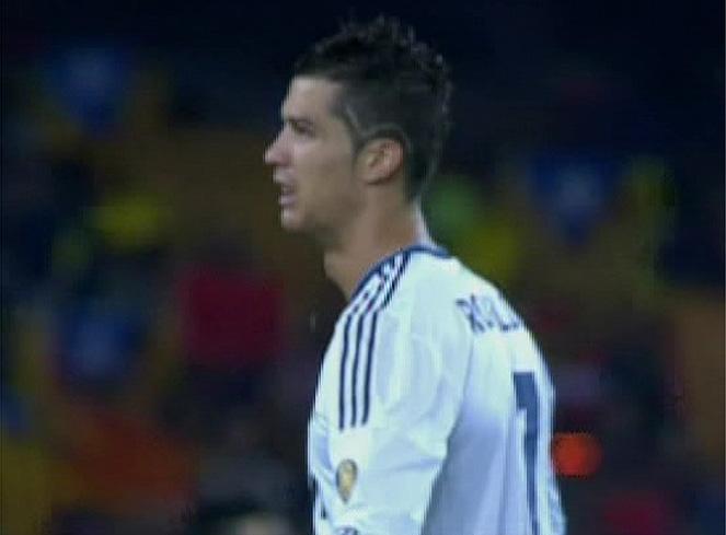 Cristiano Ronaldo estren corte de pelo para el Clsico AScom