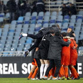 Real Sociedad and Rayo Vallecano victims of cup upsets