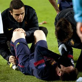"Thiago: ""I didn't see the injury but Messi looked worried"""