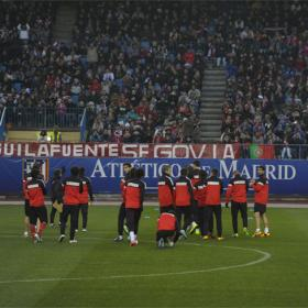 Atlético fever continues as 7,000 fans turn out for training