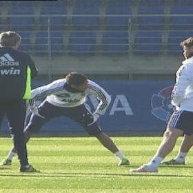 Madrid get back to training thinking ahead to Granada