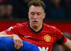 Phil Jones es duda para el partido ante el Real Madrid