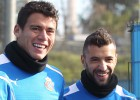 Moreno y Simao se recuperan y estarán disponibles el domingo